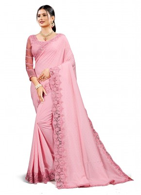 Enchanting Embroidered Festival Traditional Saree
