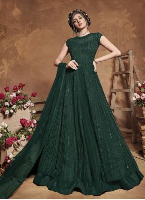 Energetic Fancy Floor Length Anarkali Suit