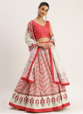 Engrossing Silk Engagement Bollywood Lehenga Choli