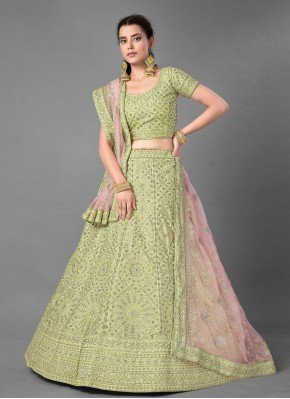 Enthralling Sequins Art Silk Bollywood Lehenga Choli