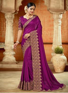 Ethnic Classic Designer Saree For Reception