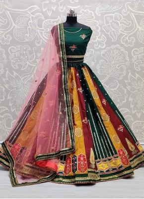 Exciting Multi Colour Lehenga Choli