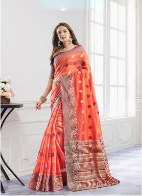 Exotic Handloom Cotton Festival Designer Traditional Saree