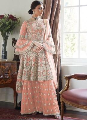 Exotic Resham Net Designer Salwar Kameez