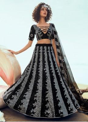 Exotic Sequins Trendy Lehenga Choli