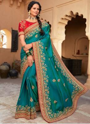 Exquisite Rama Designer Saree