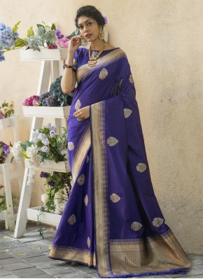 Extraordinary Banarasi Silk Sangeet Traditional Saree