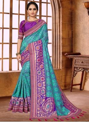 Exuberant Weaving Classic Designer Saree
