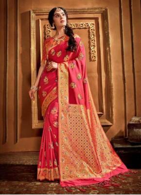 Eye-Catchy Silk Wedding Classic Saree