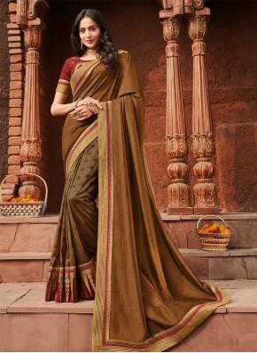 Eye-Catchy Silk Wedding Trendy Saree
