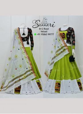 Fab Cotton  Readymade Lehenga Choli
