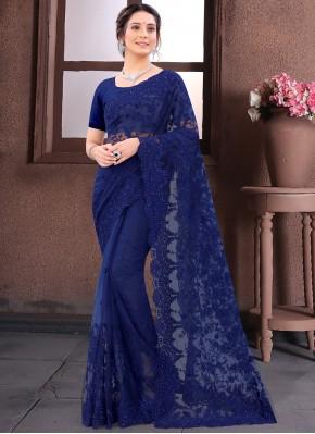 Fab Resham Wedding Contemporary Saree