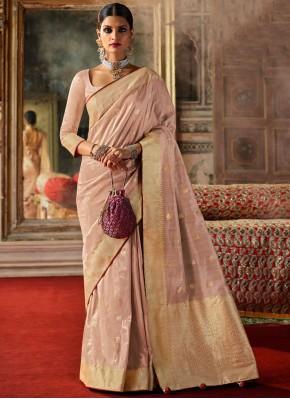 Fabulous Pink Fancy Silk Traditional Designer Saree