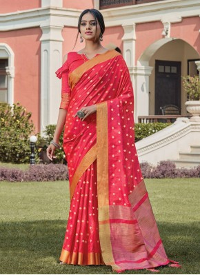 Fabulous Woven Festival Designer Traditional Saree
