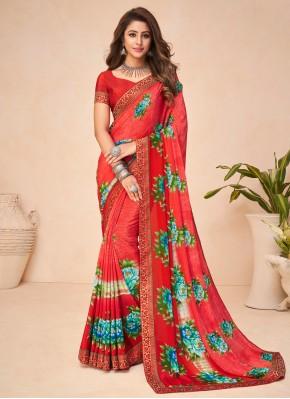 Fantastic Multi Colour Printed Saree