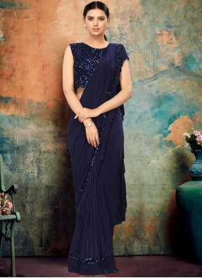 Festal Lycra Party Contemporary Saree