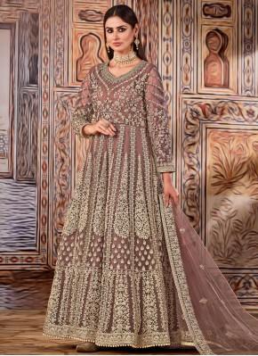 Festal Resham Floor Length Designer Suit