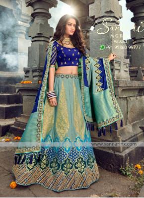 Festive Function Wear Designer Lehenga Choli In Multi Color