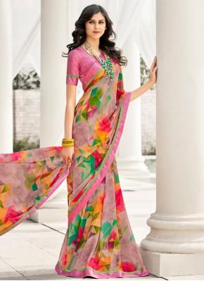 Fetching Multi Colour Casual Casual Saree
