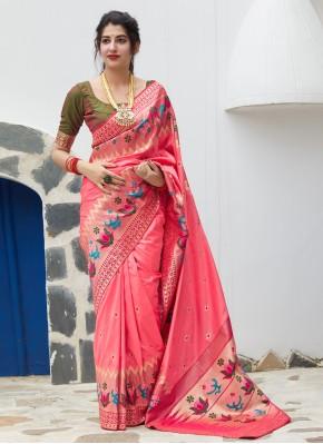 Fetching Silk Traditional Saree