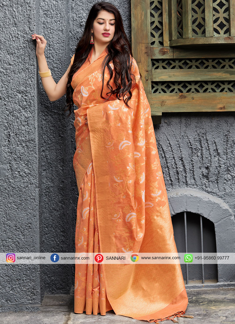 Fine Silk Reception Trendy Saree