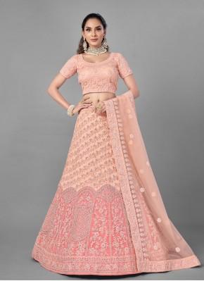 Flamboyant Net Fancy Lehenga Choli