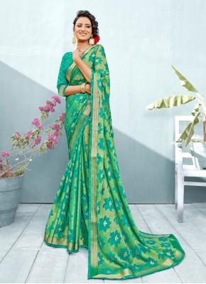 Flamboyant Trendy Saree For Ceremonial