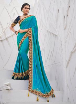 Flattering Border Silk Silk Saree