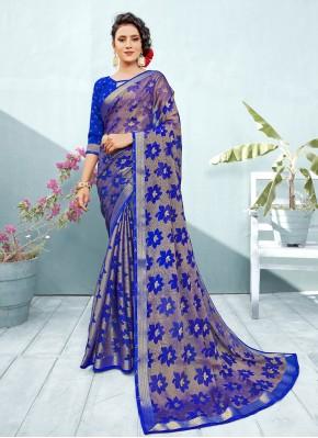 Flattering Fancy Trendy Saree