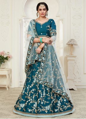 Flattering Silk Wedding Designer Lehenga Choli