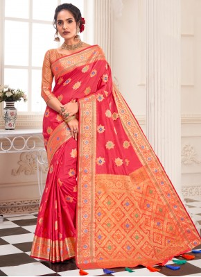 Flawless Weaving Traditional Saree