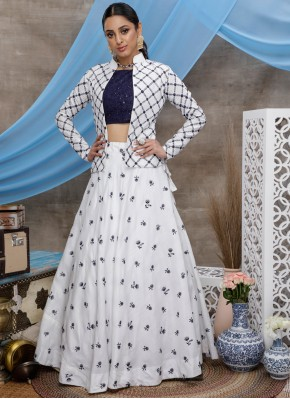 Floral Thread Designer Lehenga Choli
