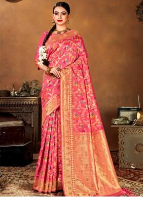 Genius Weaving Banarasi Silk Traditional Saree