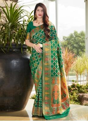 Genius Weaving Silk Traditional Saree