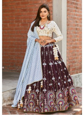 Georgette Bollywood Style Lehenga Choli in