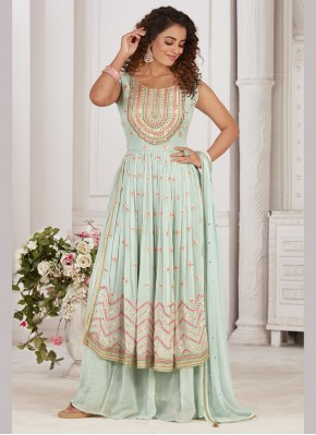 Georgette Designer Ready made Palazzo Dress