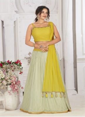 Georgette Designer Sleeve less Choli