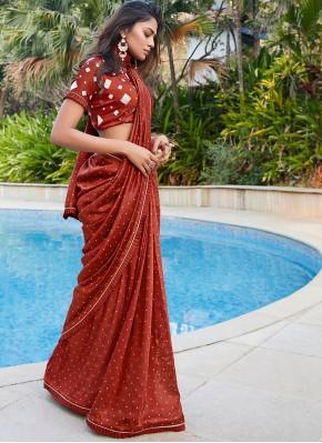 Girlish Classic Saree For Reception