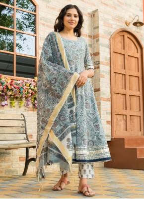 Girlish Printed Salwar Kameez