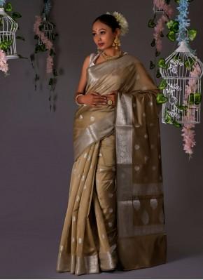 Girlish Weaving Banarasi Silk Designer Traditional Saree