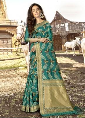Girlish Weaving Designer Traditional Saree