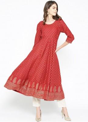 Glamorous Cotton Designer Kurti