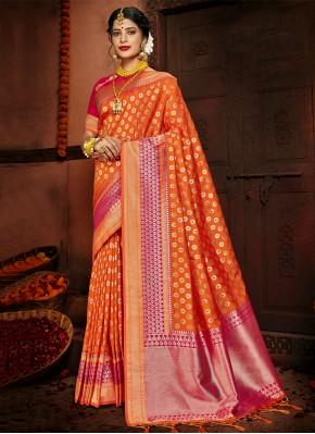 Glorious Woven Festival Designer Traditional Saree