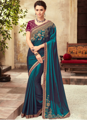 Glowing Classic Saree For Festival