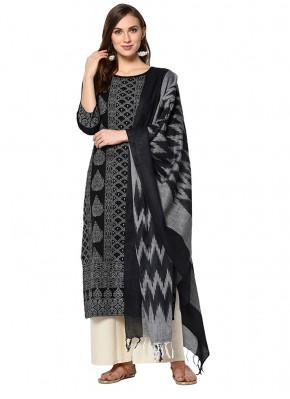 Glowing Cotton Print Salwar Suit