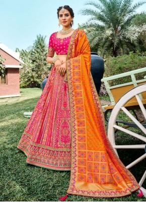 Glowing Designer Lehenga Choli For Ceremonial