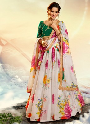 Glowing Organza Lehenga Choli