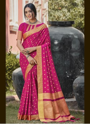 Graceful Woven Handloom silk Traditional Designer Saree