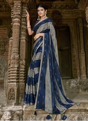 Grandiose Multi Colour Party Trendy Saree