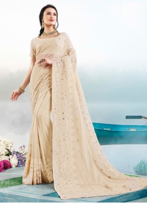 Gripping Resham Trendy Saree